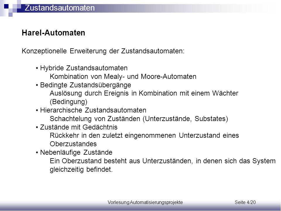Vorlesung Automatisierungsprojekte Seite 4/20