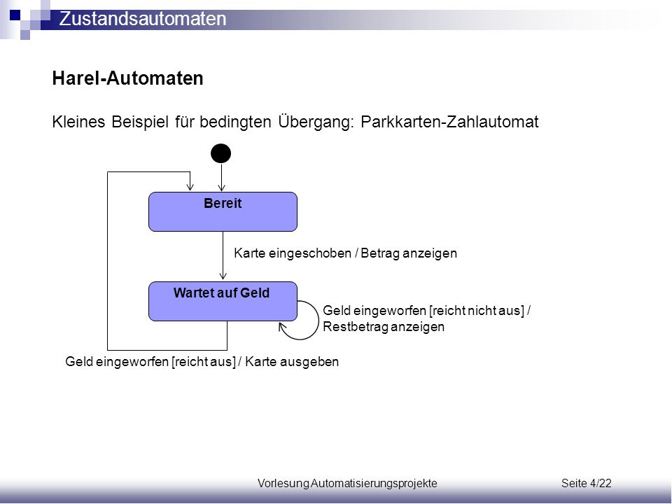 Vorlesung Automatisierungsprojekte Seite 4/22
