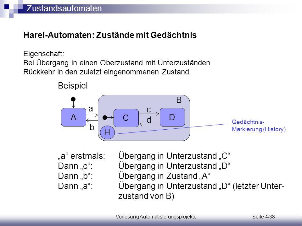Vorlesung Automatisierungsprojekte Seite 4/38