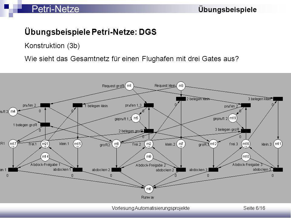 Vorlesung Automatisierungsprojekte Seite 6/16