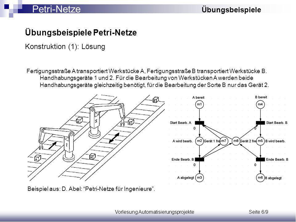 Vorlesung Automatisierungsprojekte Seite 6/9
