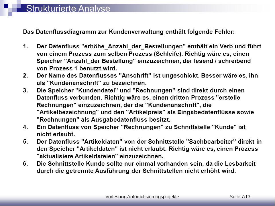 Vorlesung Automatisierungsprojekte Seite 7/13