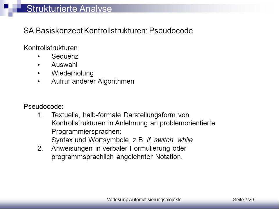 Vorlesung Automatisierungsprojekte Seite 7/20
