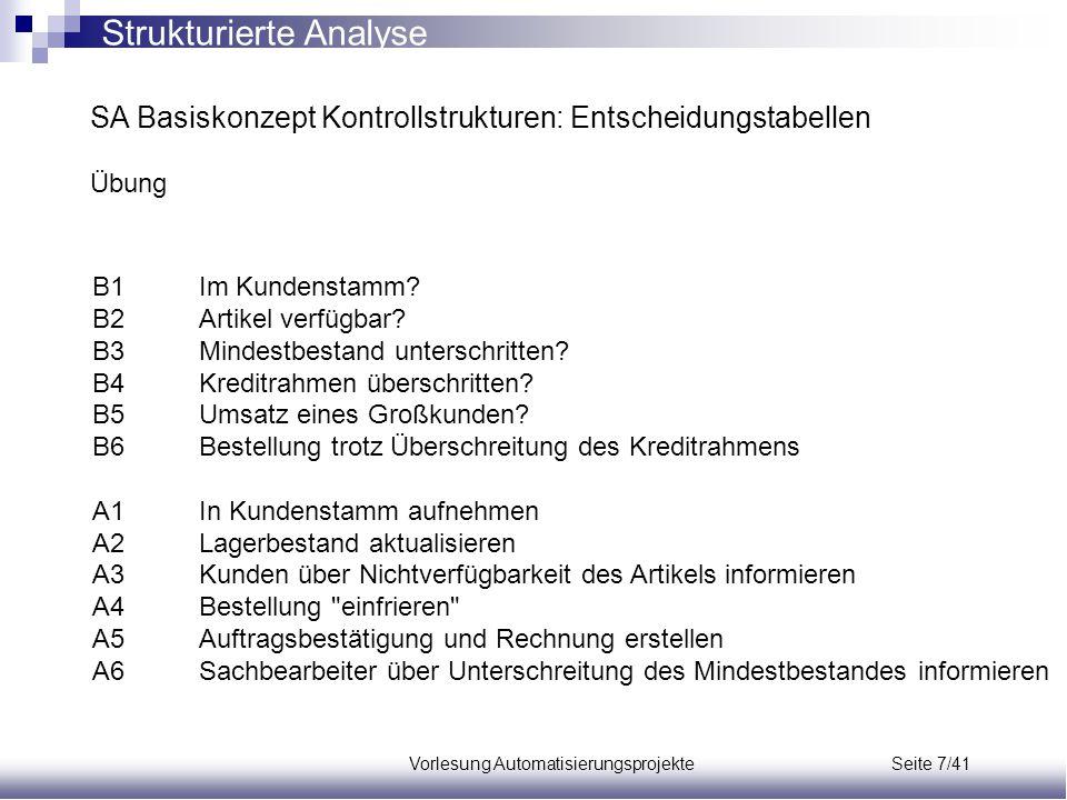 Vorlesung Automatisierungsprojekte Seite 7/41