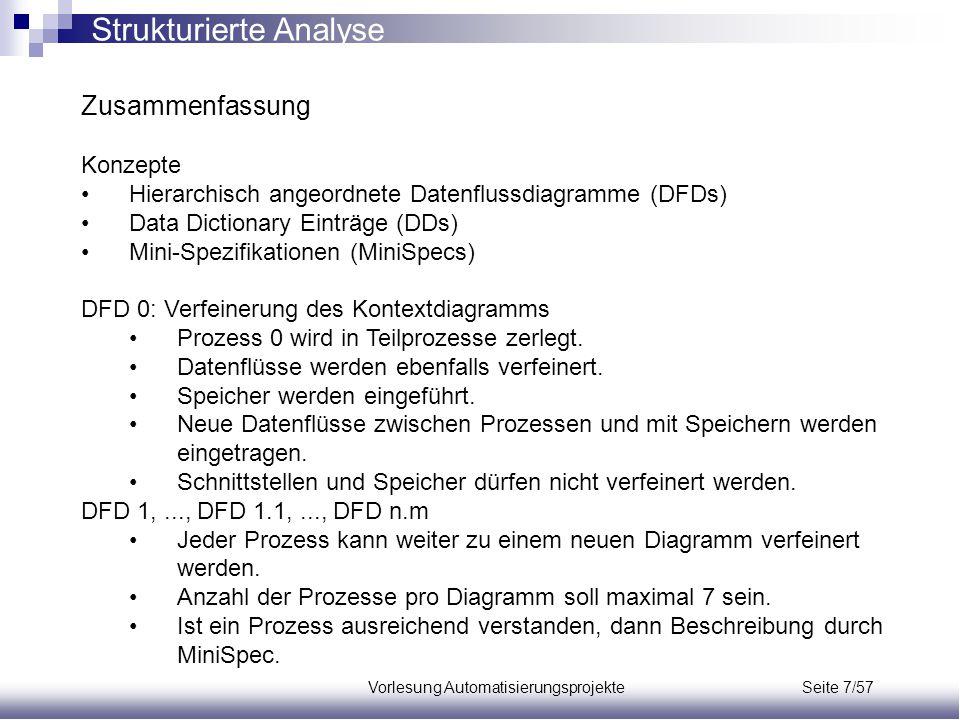 Vorlesung Automatisierungsprojekte Seite 7/57