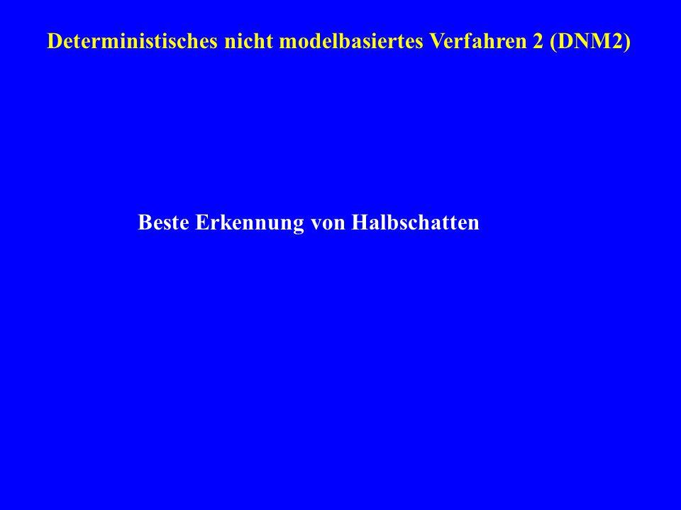 Deterministisches nicht modelbasiertes Verfahren 2 (DNM2)