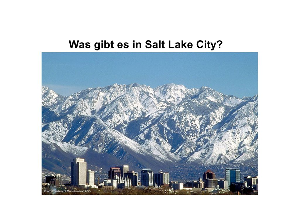Was gibt es in Salt Lake City