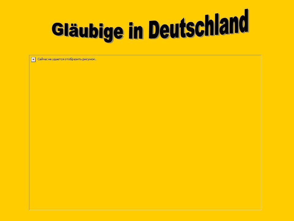 Gläubige in Deutschland