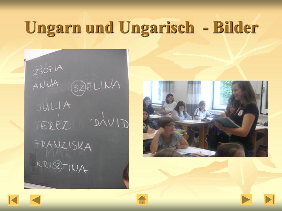 Ungarn und Ungarisch - Bilder