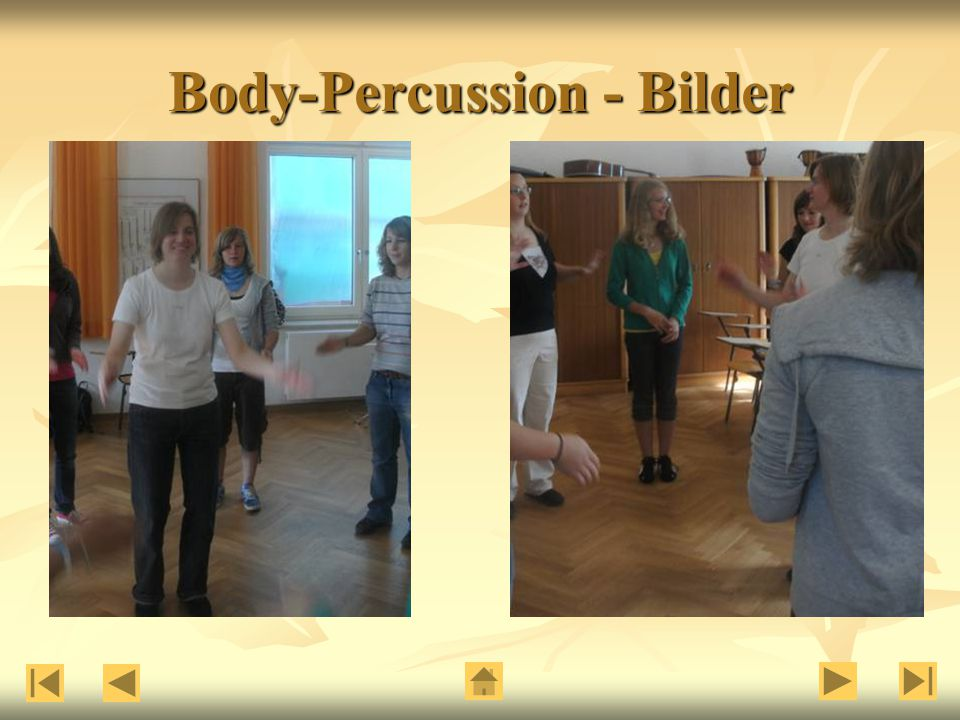 Body-Percussion - Bilder