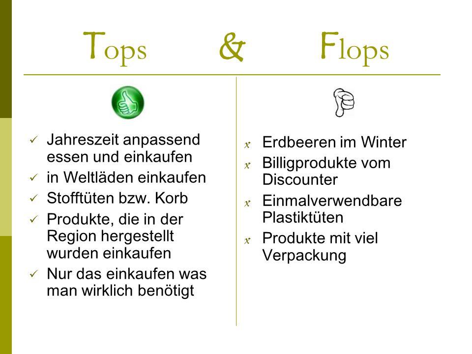 Tops & Flops Erdbeeren im Winter