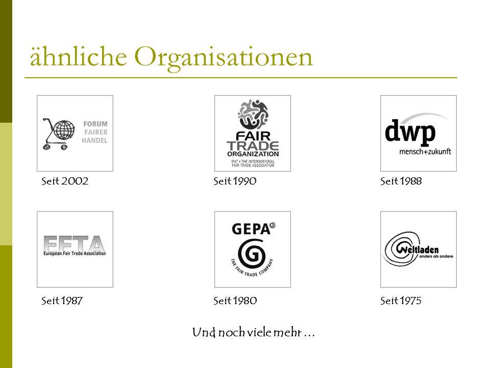 ähnliche Organisationen