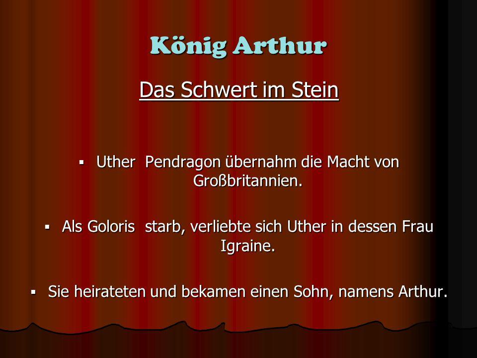 König Arthur Das Schwert im Stein