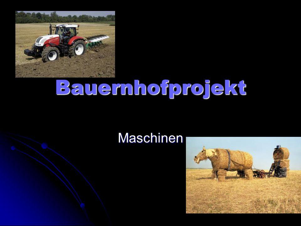 Bauernhofprojekt Maschinen