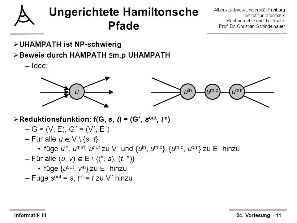 Ungerichtete Hamiltonsche Pfade