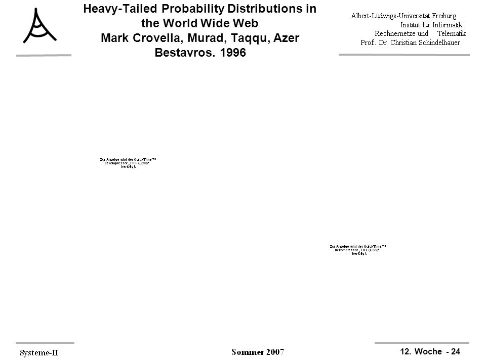 Heavy-Tailed Probability Distributions in the World Wide Web Mark Crovella, Murad, Taqqu, Azer Bestavros, 1996
