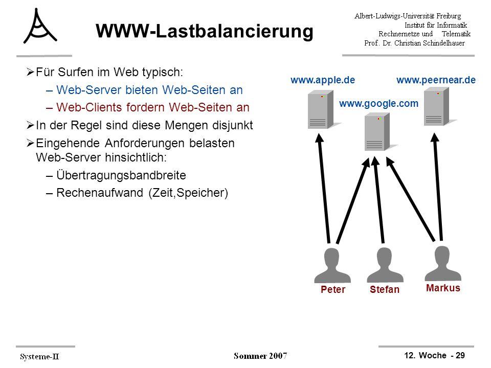 WWW-Lastbalancierung