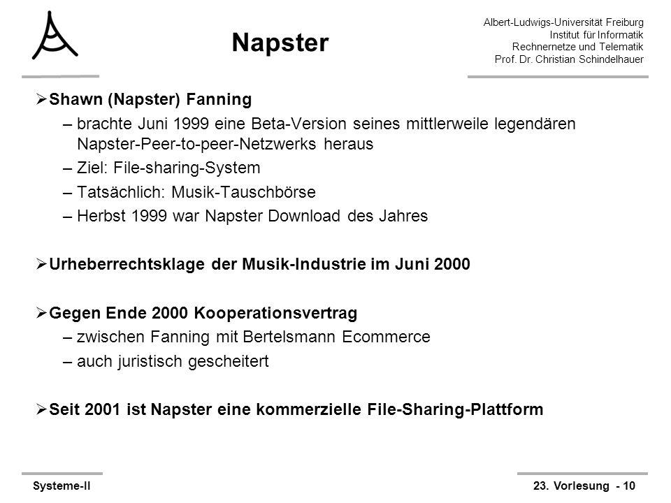 Napster Shawn (Napster) Fanning