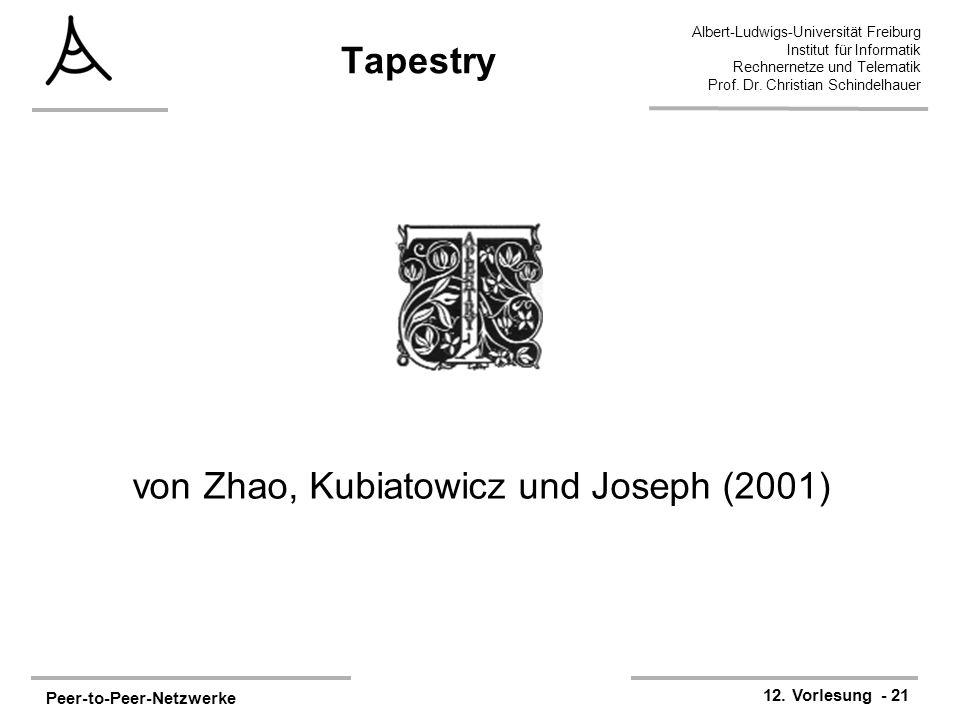 von Zhao, Kubiatowicz und Joseph (2001)