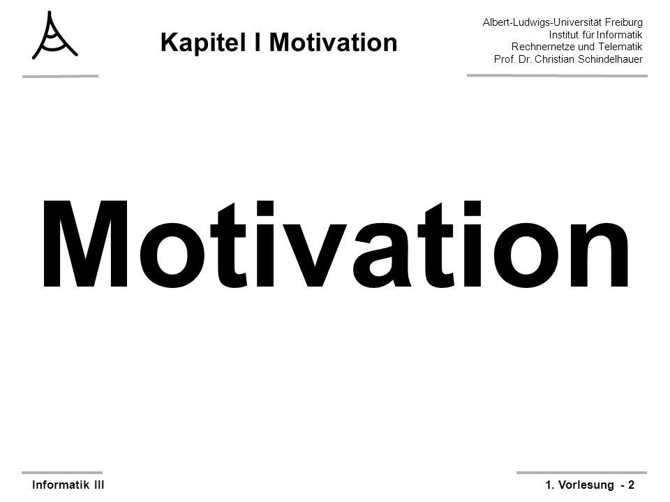 Kapitel I Motivation Motivation