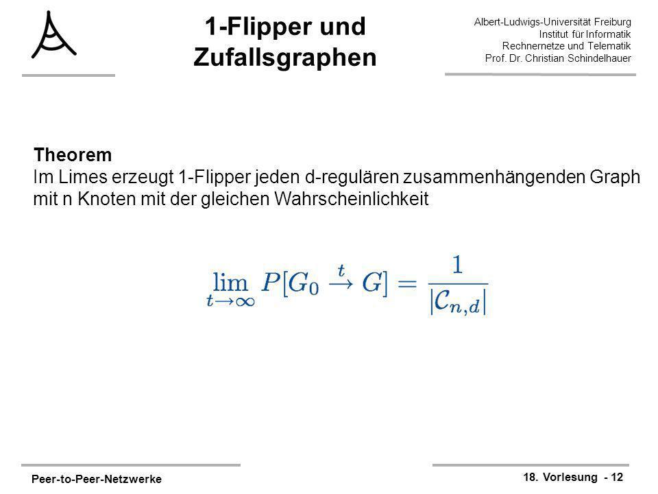 1-Flipper und Zufallsgraphen