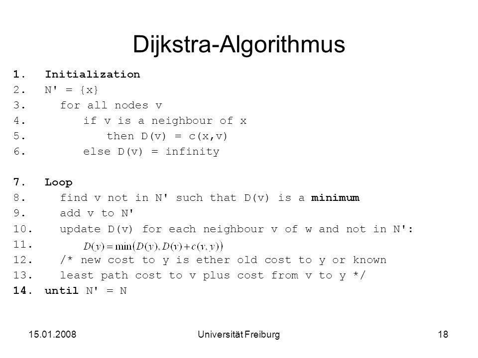 Dijkstra-Algorithmus
