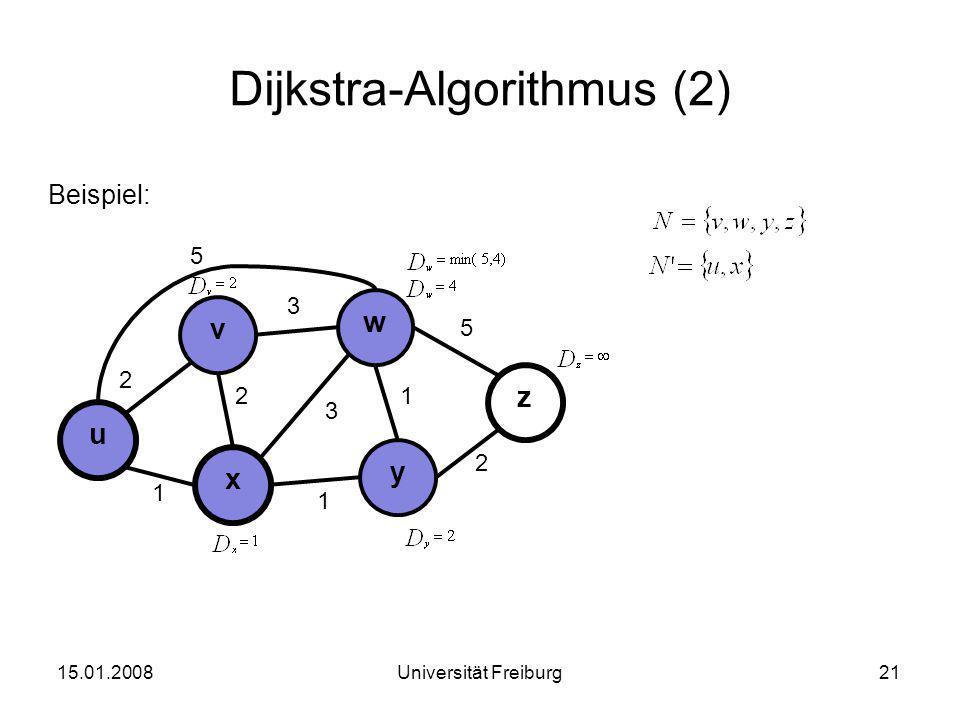 Dijkstra-Algorithmus (2)