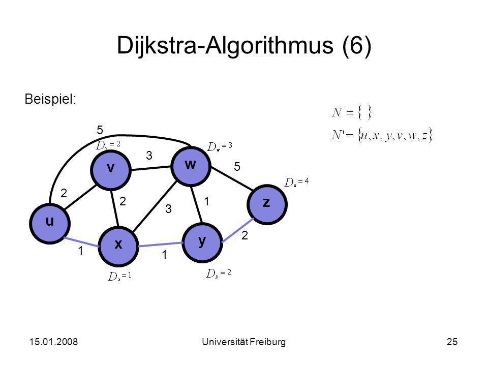 Dijkstra-Algorithmus (6)