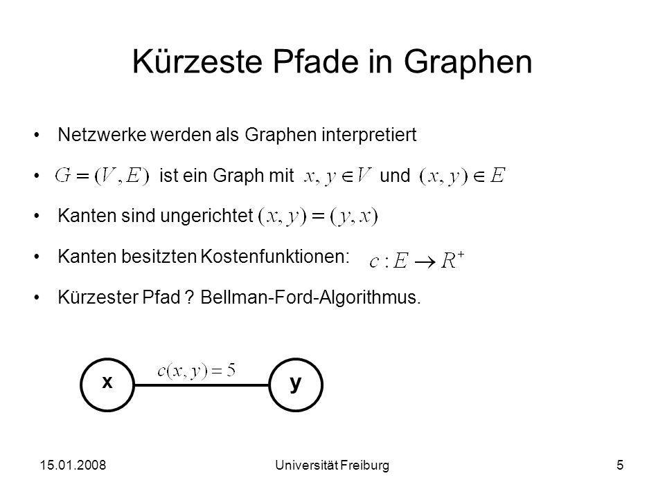 Kürzeste Pfade in Graphen