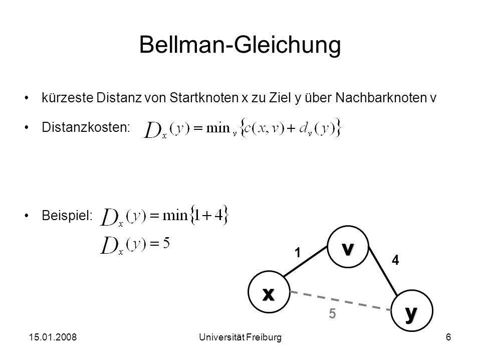 Bellman-Gleichung v x y