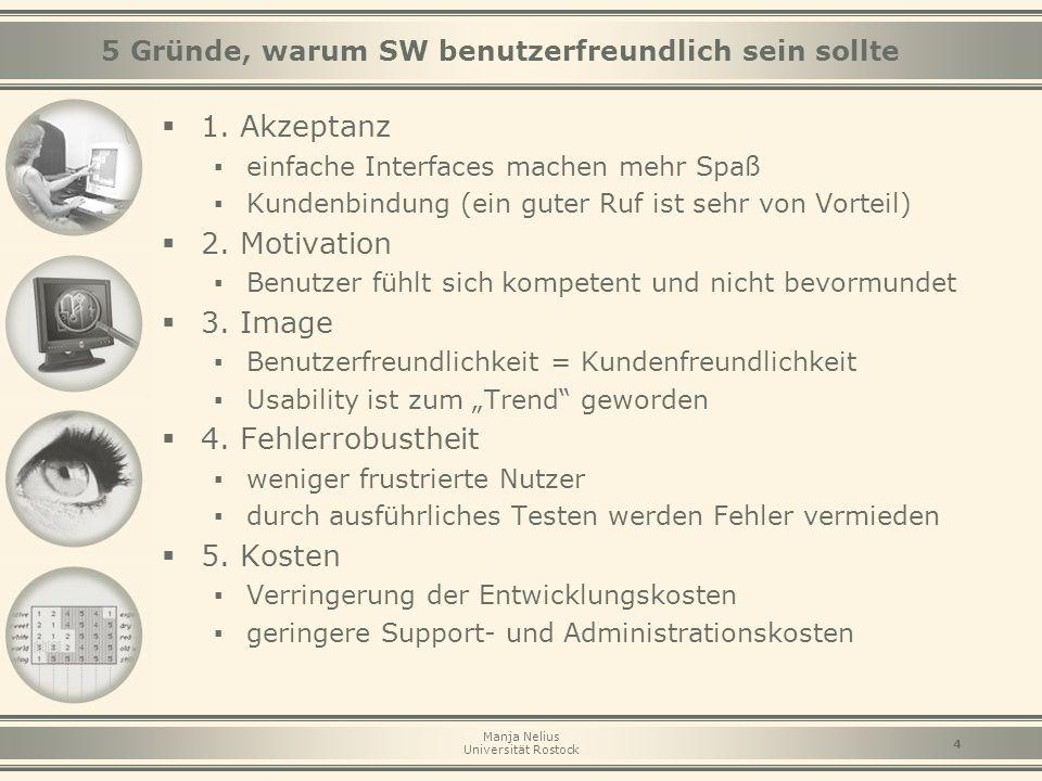 5 Gründe, warum SW benutzerfreundlich sein sollte