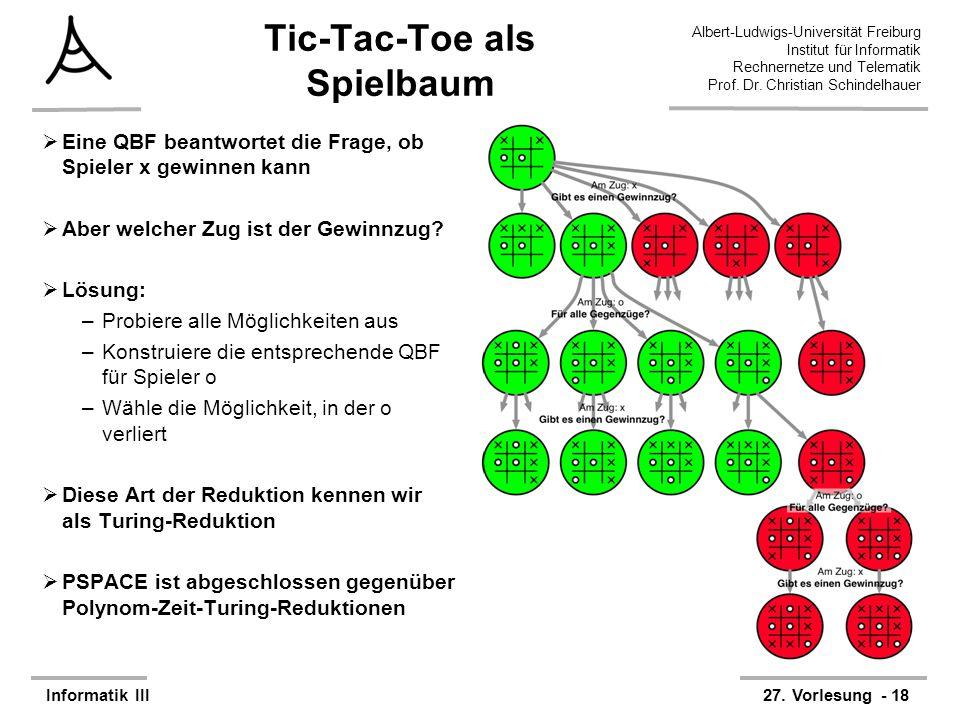 Tic-Tac-Toe als Spielbaum