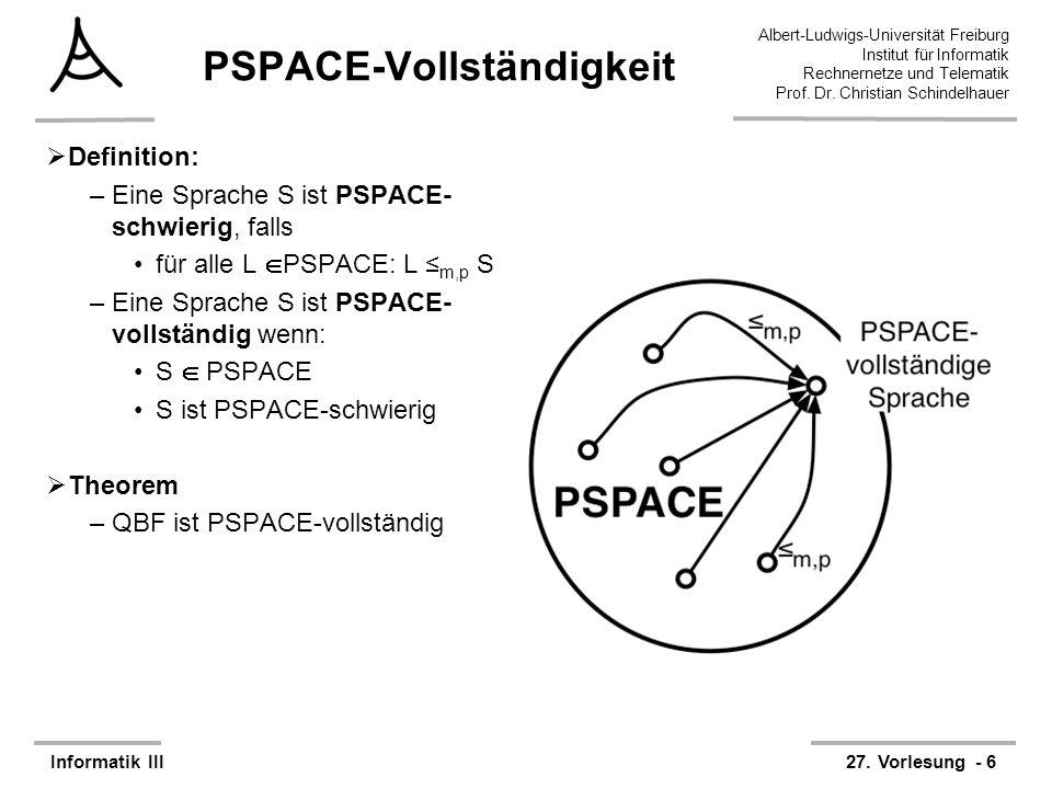 PSPACE-Vollständigkeit