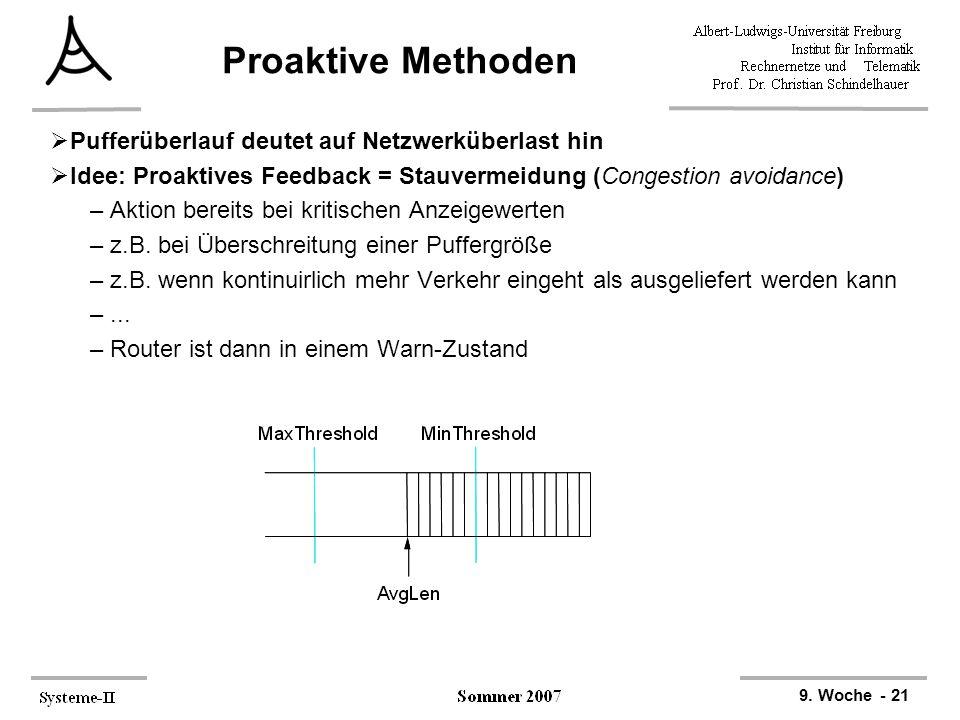 Proaktive Methoden Pufferüberlauf deutet auf Netzwerküberlast hin