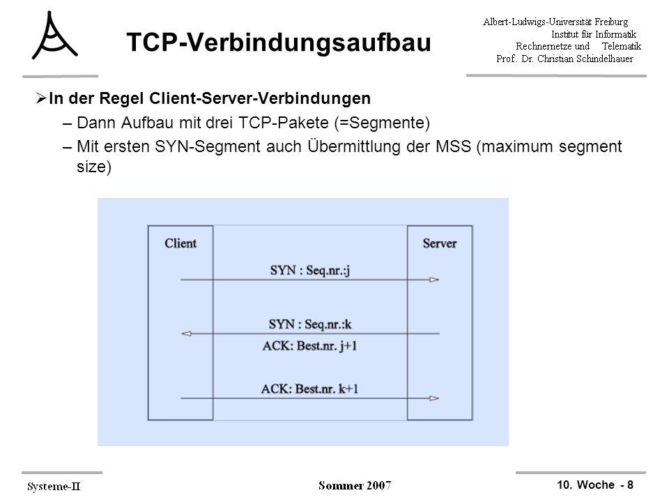 TCP-Verbindungsaufbau