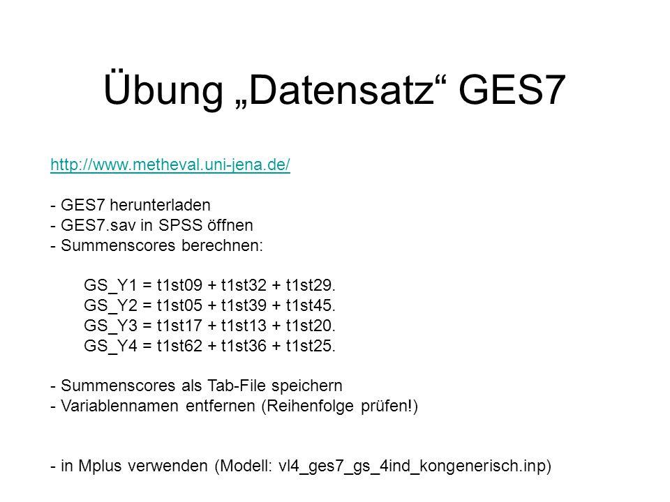 """Übung """"Datensatz GES7 http://www.metheval.uni-jena.de/"""