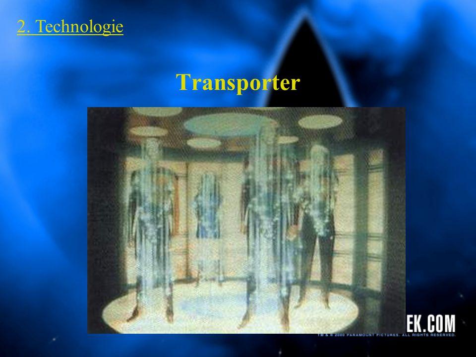 2. Technologie Transporter