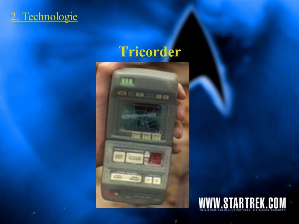 2. Technologie Tricorder