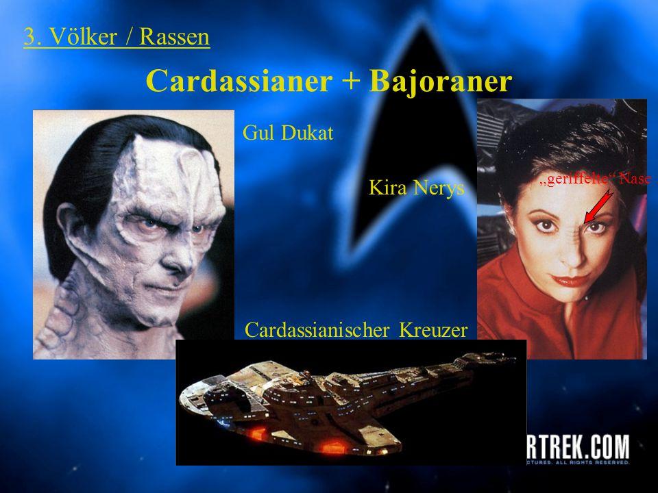 Cardassianer + Bajoraner