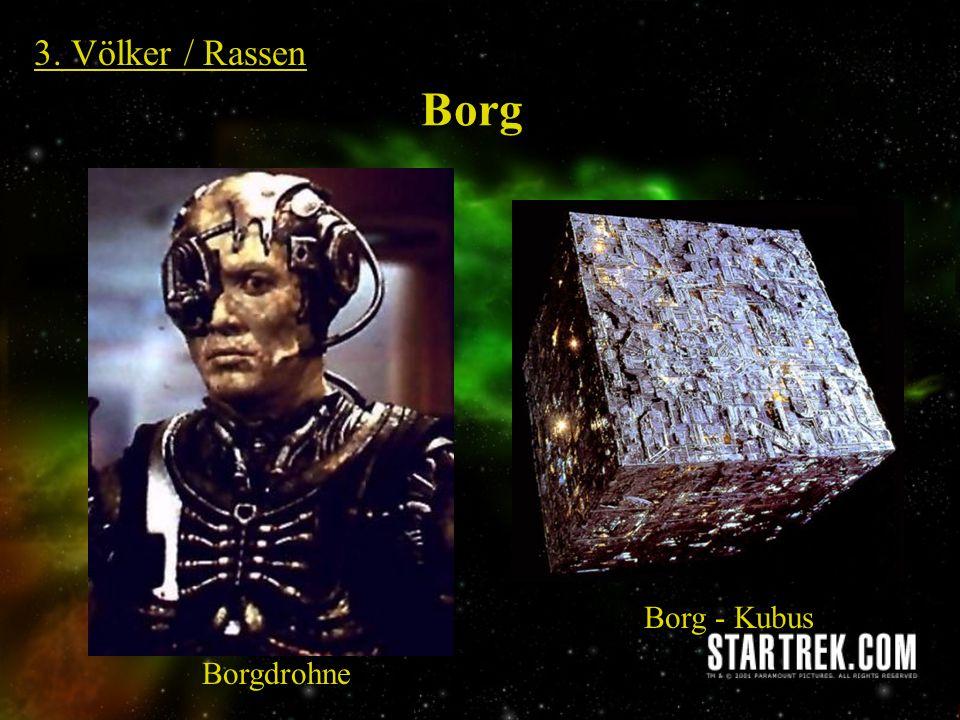 3. Völker / Rassen Borg Borg - Kubus Borgdrohne