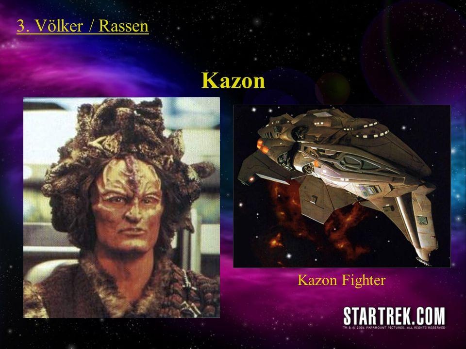 3. Völker / Rassen Kazon Kazon Fighter