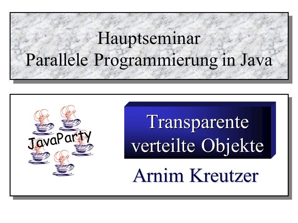 Parallele Programmierung in Java