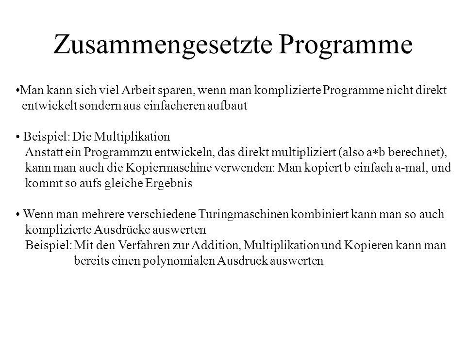 Zusammengesetzte Programme