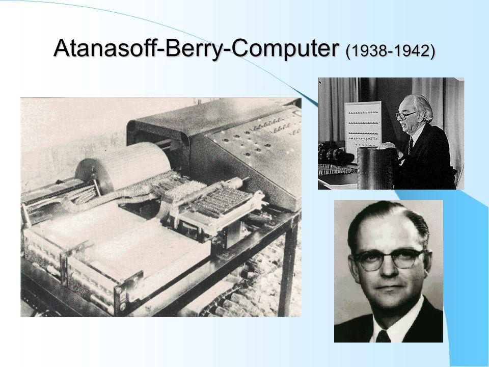 Atanasoff-Berry-Computer (1938-1942)