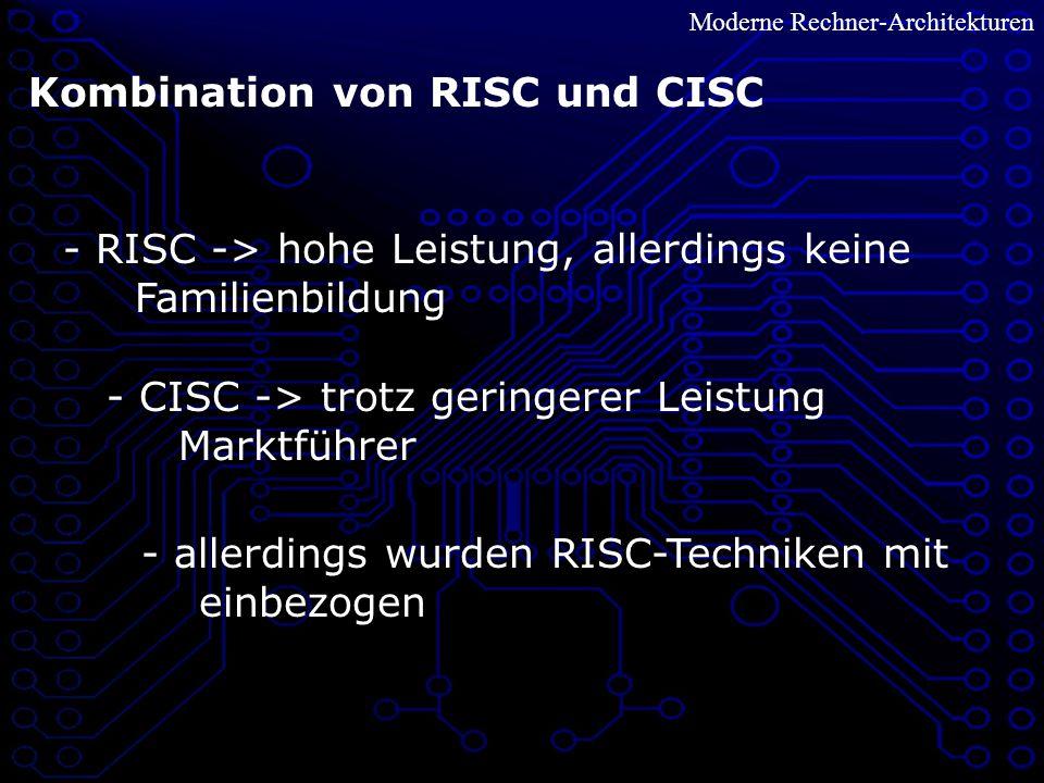 Kombination von RISC und CISC