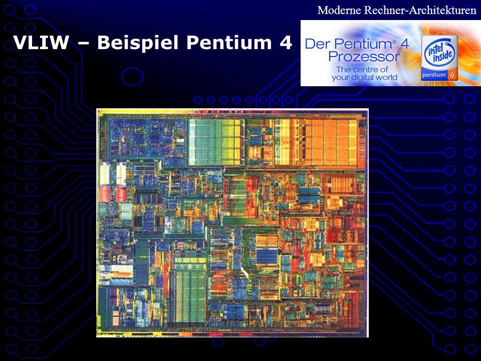 VLIW – Beispiel Pentium 4