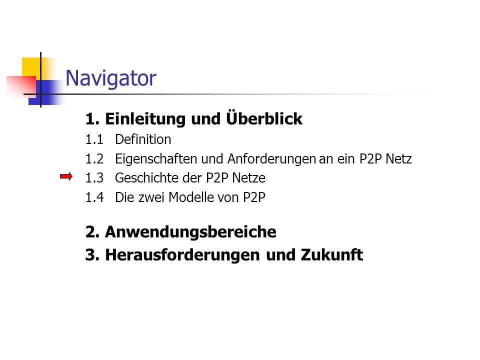 Navigator 3. Herausforderungen und Zukunft