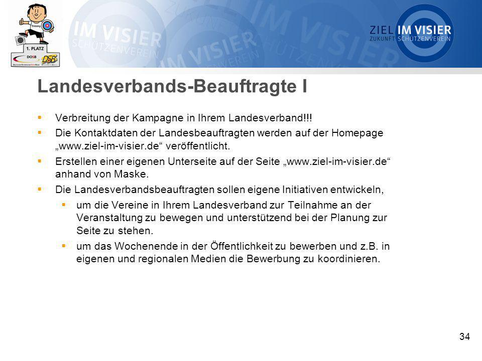 Landesverbands-Beauftragte I