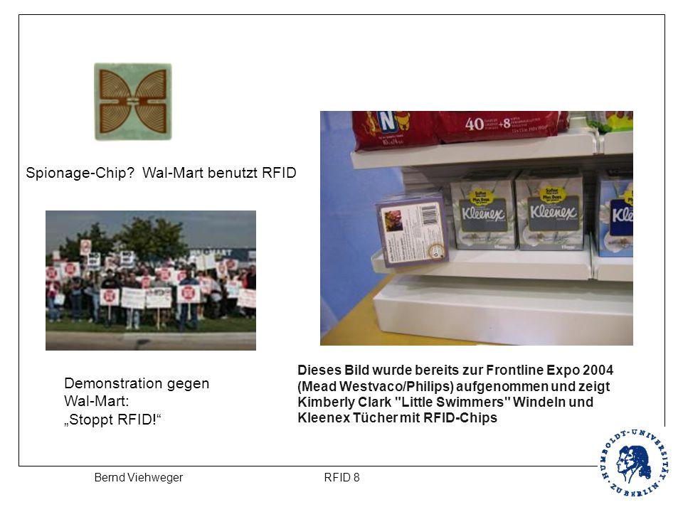 Spionage-Chip Wal-Mart benutzt RFID