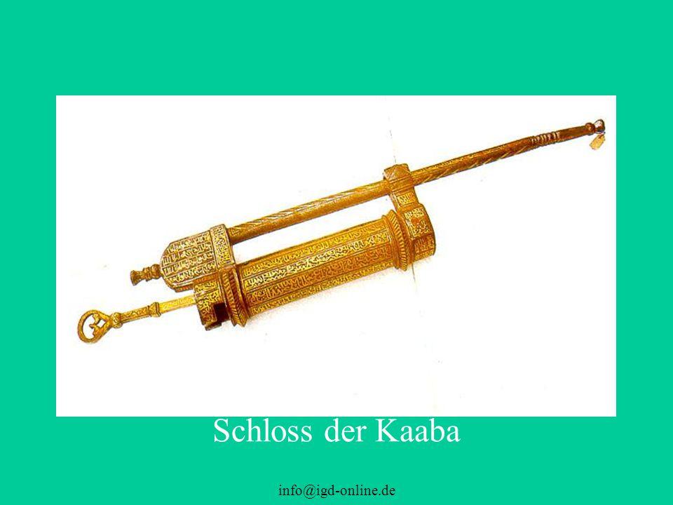 Schloss der Kaaba info@igd-online.de
